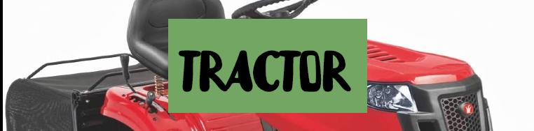 Tractor cortacesped